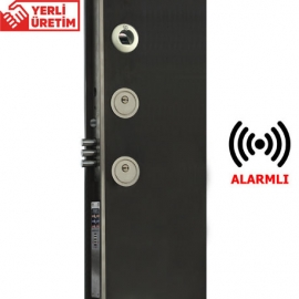 Piks Classic FC100 PE Çelik Kapılar İçin Parmak İzli, Uzaktan Kumandalı ve Alarmlı Akıllı Kilit