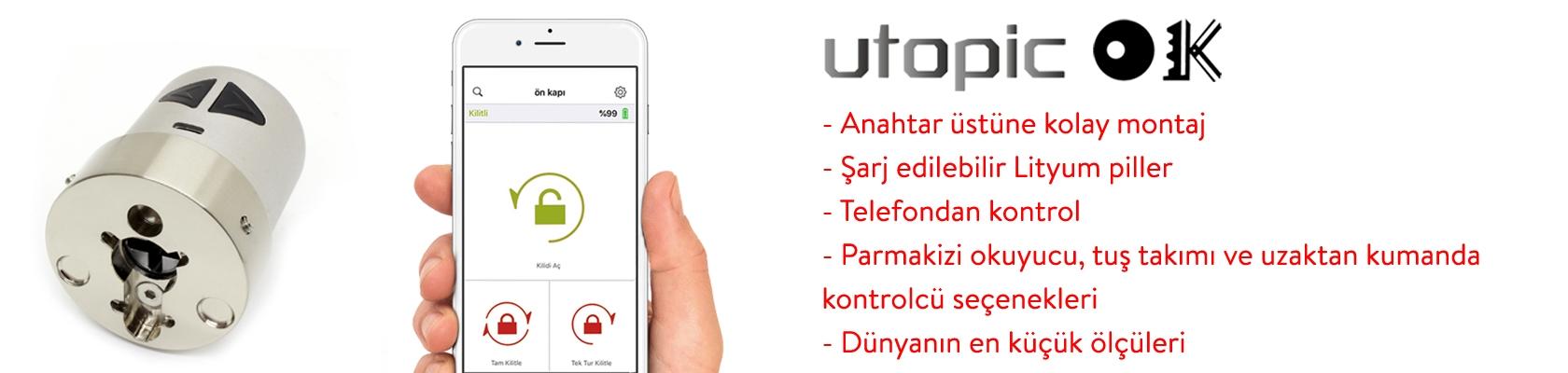 Desi Utopic Ok Tip A Akıllı Kilit